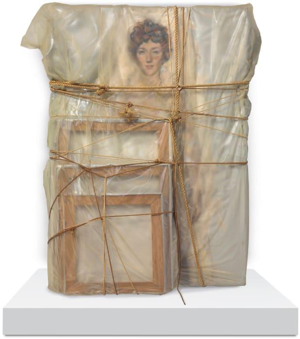 Portrait of Judith Lieb by Christo & Jeanne-Claude