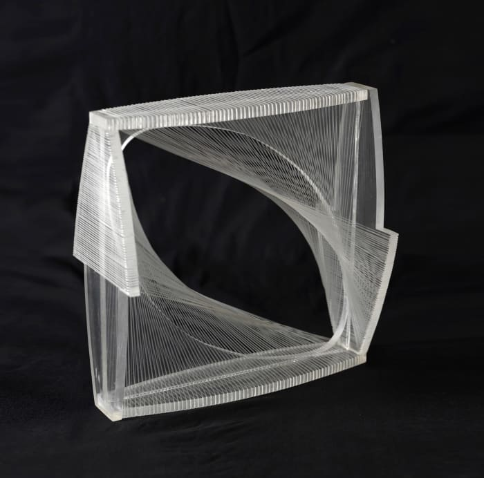 Linear Construction in Space No.1 (Variation) by Naum Gabo
