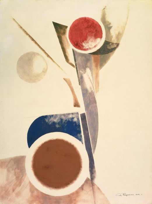 Non-objective composition by Alexander Rodchenko