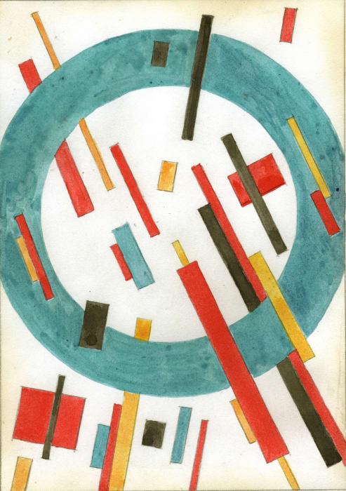 Suprematist Composition by Nina Kogan