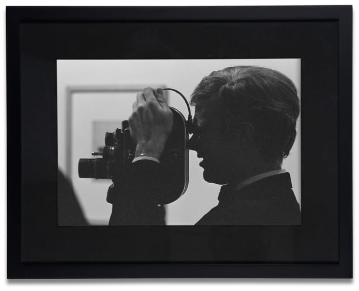 Andy Warhol (with Camera at Ferus Gallery) by Dennis Hopper
