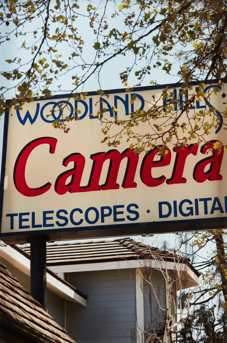 Camera Store Sign by Roe Ethridge