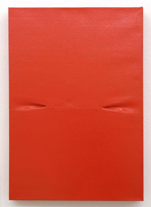 Scar (Red) I by Angela de la Cruz