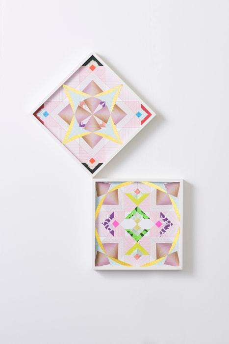 Minuscule Kaleidoscopic Clock Faces – Trustworthy #322 by Haegue Yang