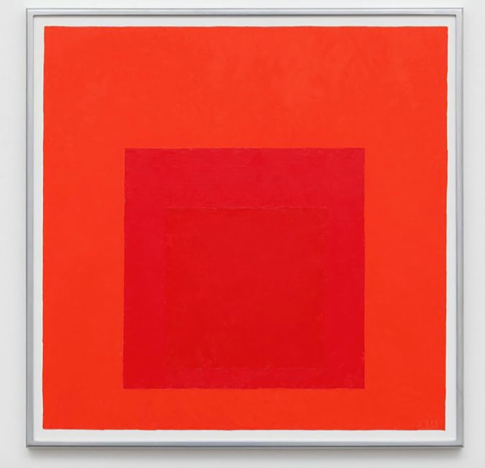 Study for Homage to the Square Less is More, 1964, After Josef Albers by Jill Magid