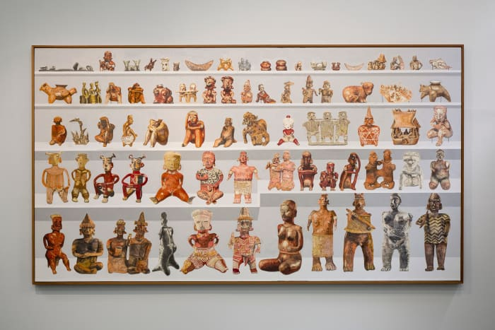 78 west Mexico ceramics from the LACMA collection: Nayarit Index by Gala Porras-Kim