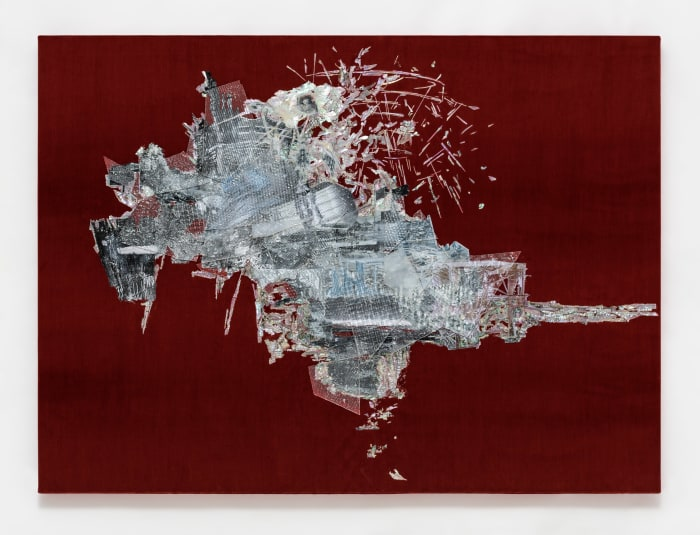 Untitled (Willing To Be Vulnerable - Red Velvet #5 DDRG13RB) by Lee Bul