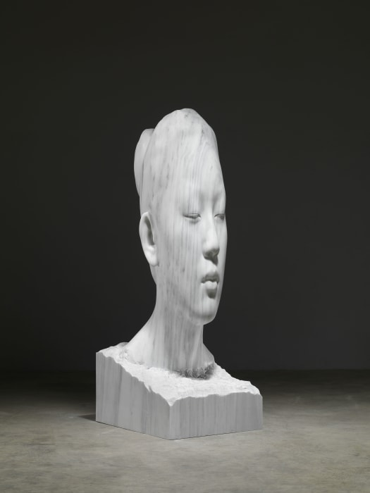 Laura Asia by Jaume Plensa