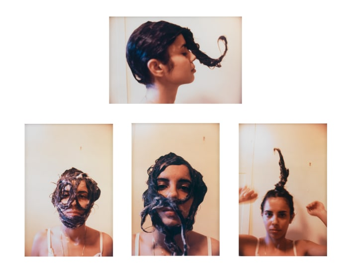 Untitled (Cosmetic Facial Variations) by Ana Mendieta