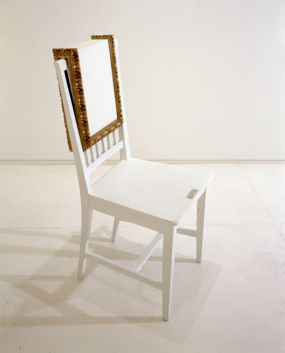 Chair Painting by Yoko Ono