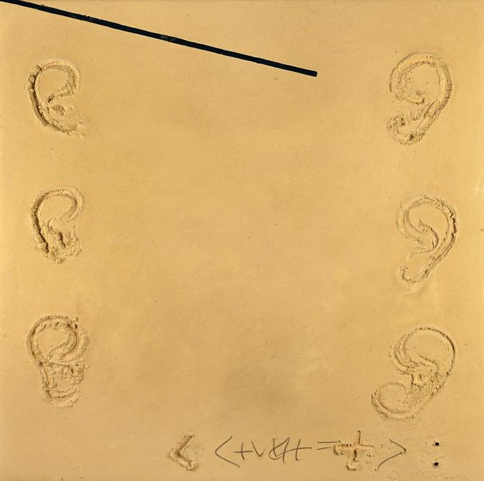 Sis orelles by Antoni Tàpies