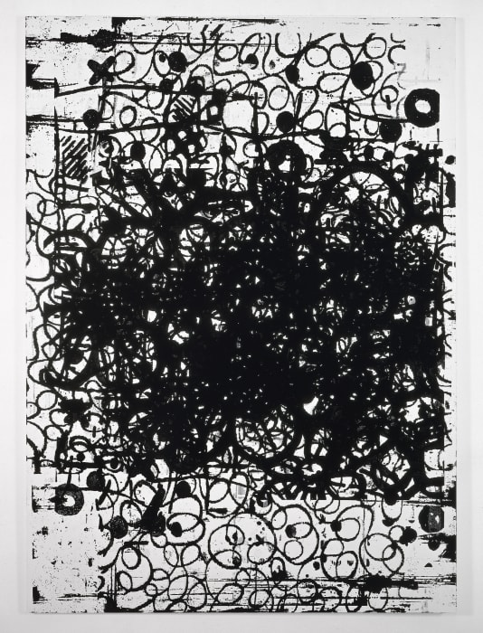 Dancing In Your Head by Christopher Wool