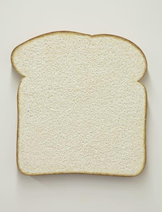 Untitled (white bread) by Tom Friedman