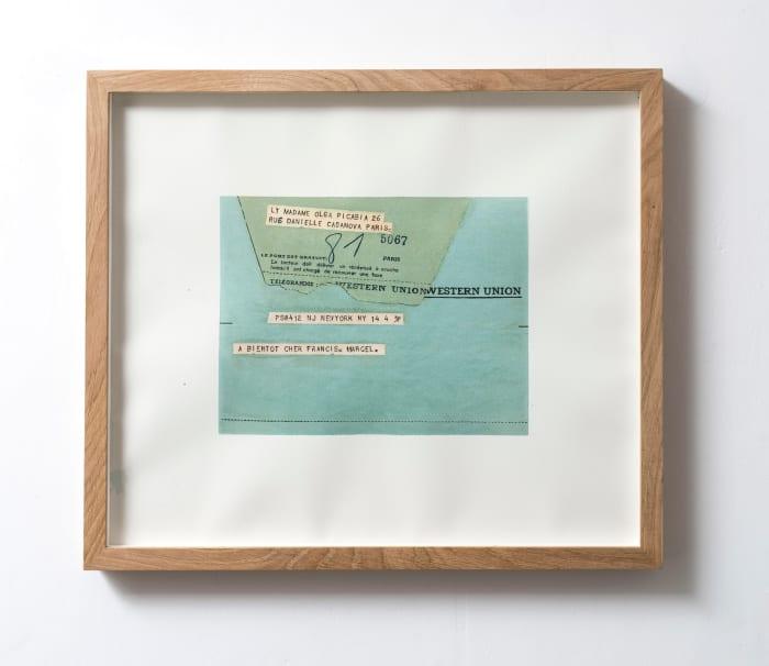 Senza titolo (A Bientot) by Elisabetta Benassi