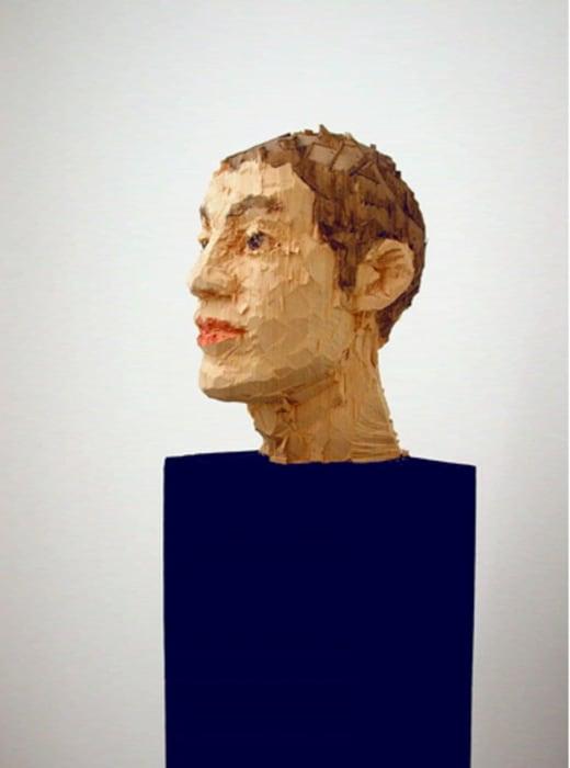 Column With Head by Stephan Balkenhol