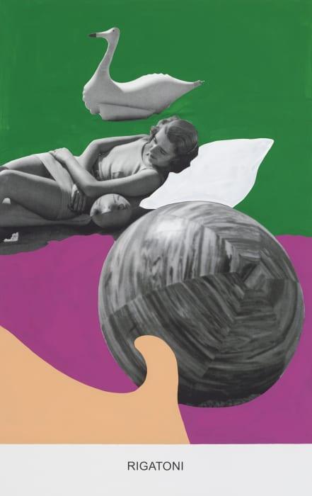 Rigatoni by John Baldessari