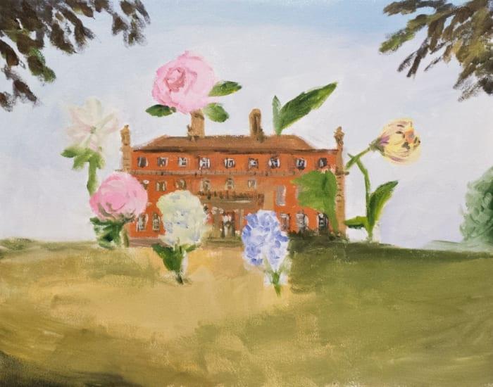the summer house by Karen Kilimnik