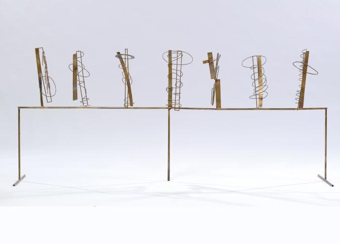Tema e Variazioni XI by Fausto Melotti