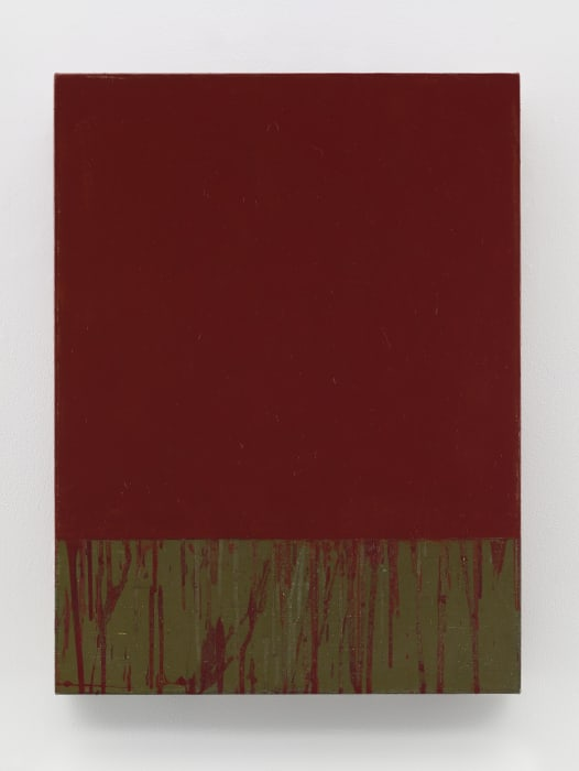Red Square by Brice Marden