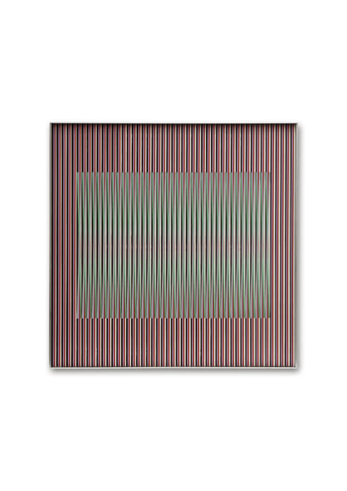Physichromie 1.221 by Carlos Cruz-Diez