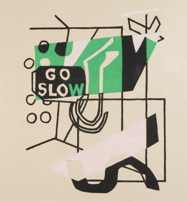 Study for 'Combination Concrete' No. 1 by Stuart Davis