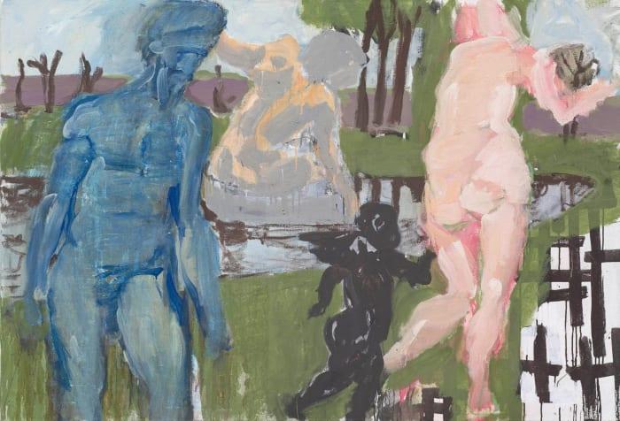 """""""Untitled"""" by Markus Lüpertz"""