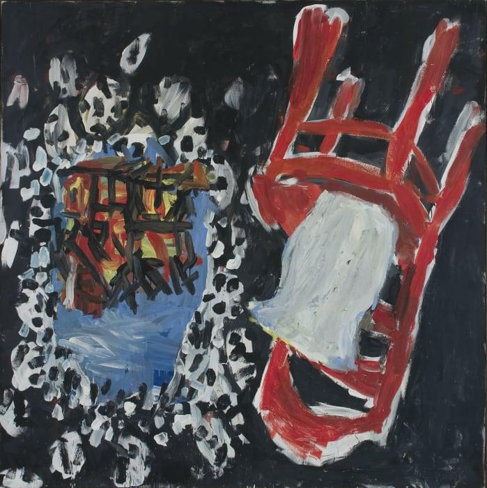 Die Mühle brennt – Richard by Georg Baselitz