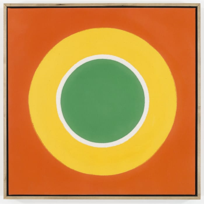 Hot Spot by Kenneth Noland