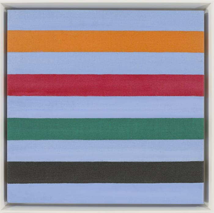 Small Virtue by Kenneth Noland