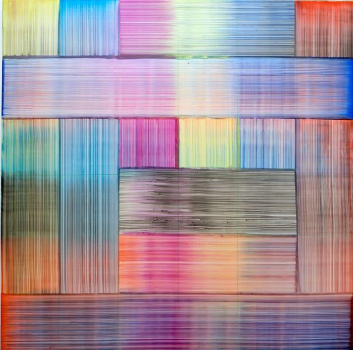 Zel by Bernard Frize