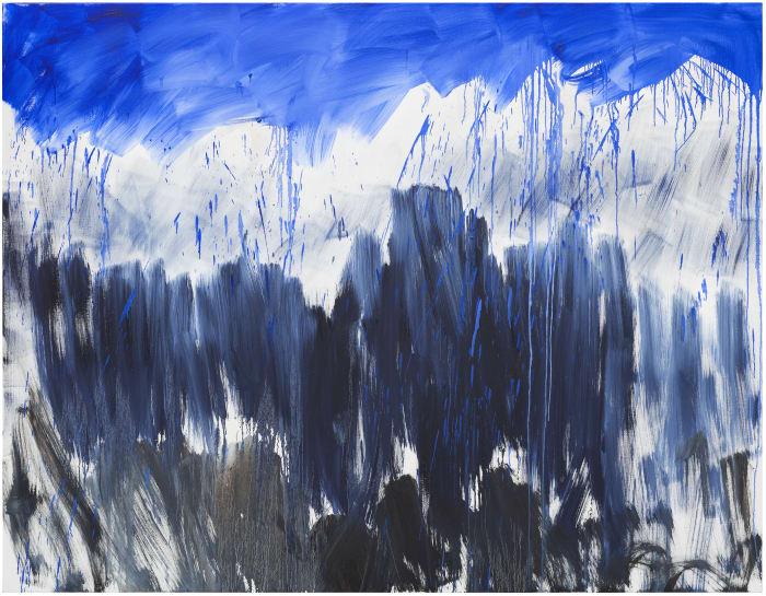 Ohne Titel by Herbert Brandl