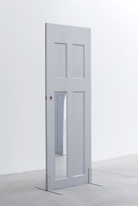 Single Silver Door by Tom Burr
