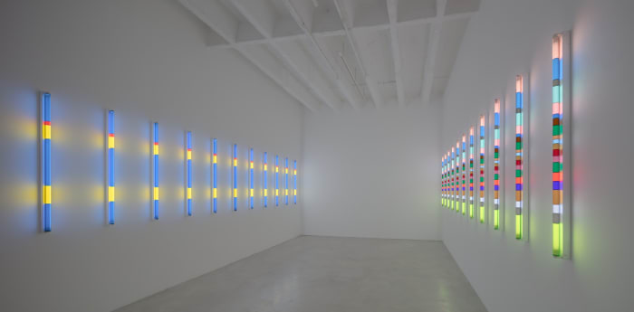 Bauhaus Light (Kandinsky's Studio/Klee's Studio, afternoon effect) by Spencer Finch