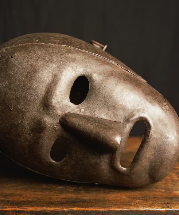 Fool's Mask IV, Hever Castle, England (Torture) by Andres Serrano