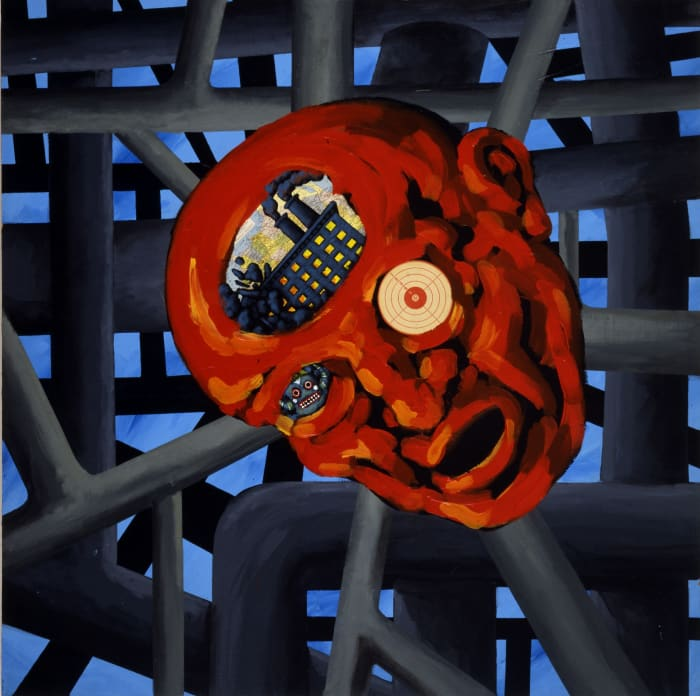Untitled (Alien Mind) by David Wojnarowicz