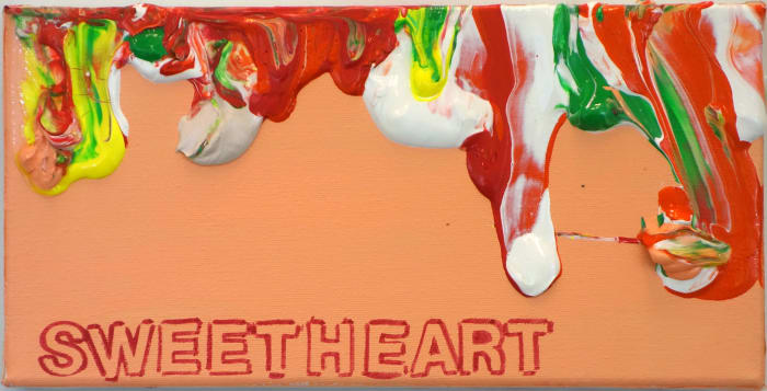 Sweetheart by Betty Tompkins