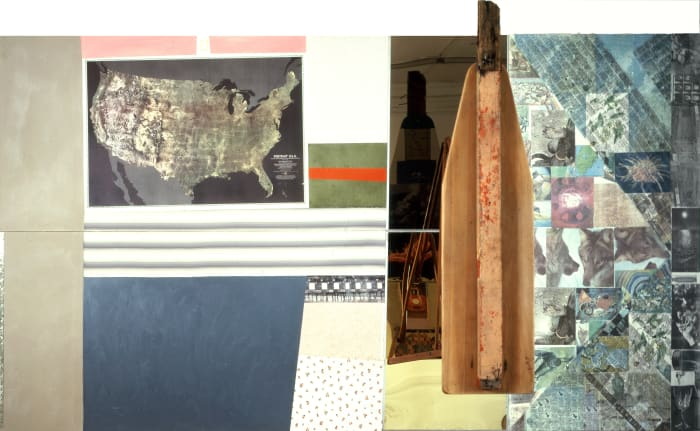 Green Gauge (Spread) by Robert Rauschenberg