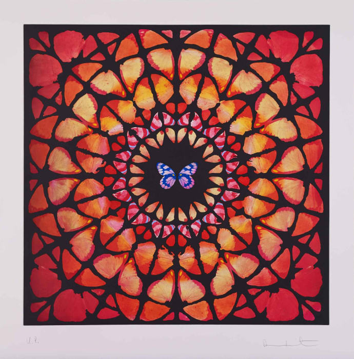 UP from Sanctum by Damien Hirst