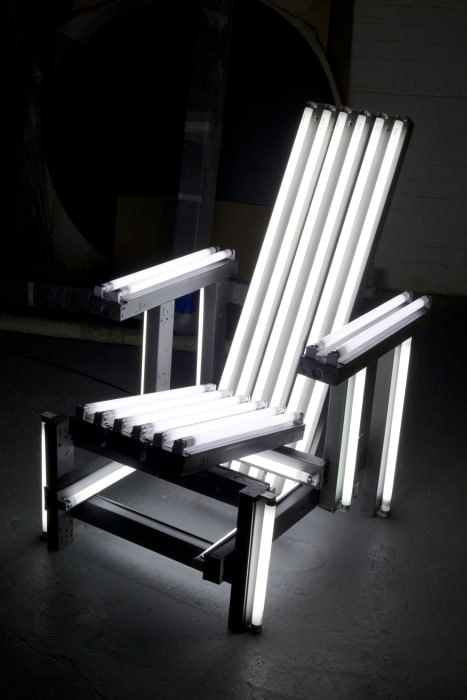 Metal Electric Chair by Iván Navarro