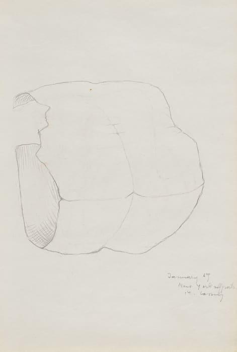 New York Selfportrait by Maria Lassnig