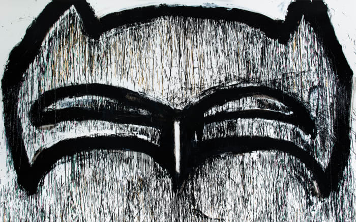 Texas Batman by Joyce Pensato