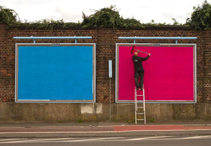 Miami Billboard by Thomas Wachholz