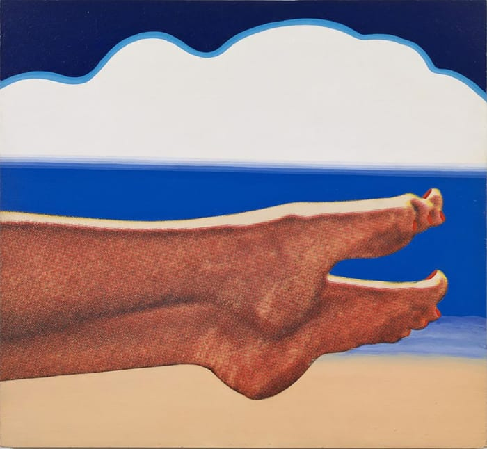 Little Seascape #3 by Tom Wesselmann