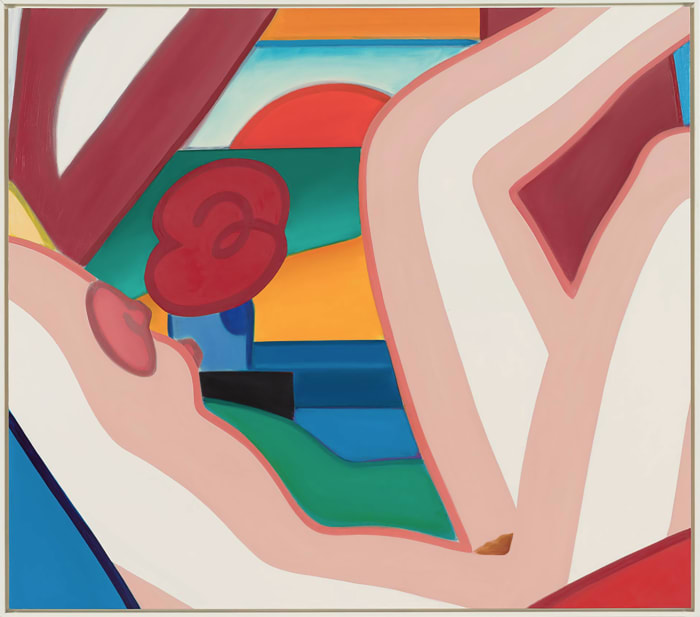 Sunset Nude (Variation #1) by Tom Wesselmann