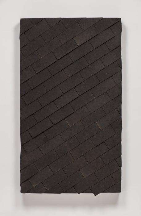 watertight diagonal shingle by Theaster Gates