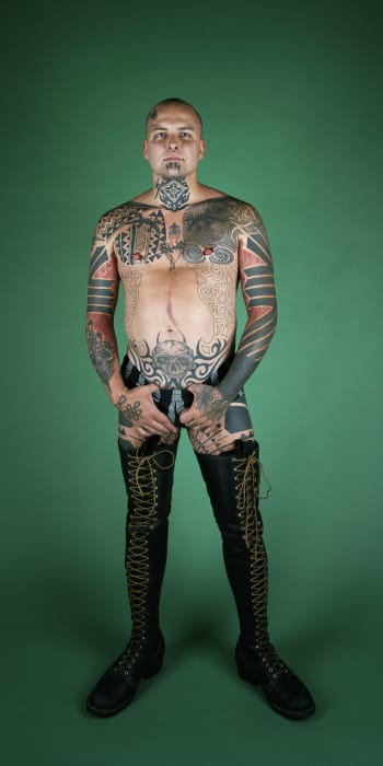 Ron Athey by Catherine Opie