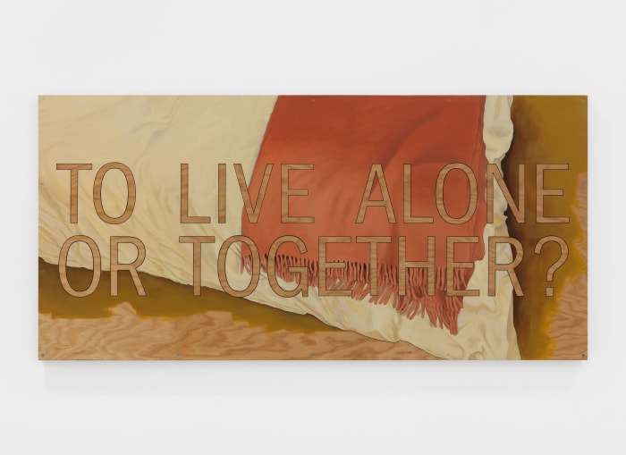 To live alone or together? by Andrea Zittel