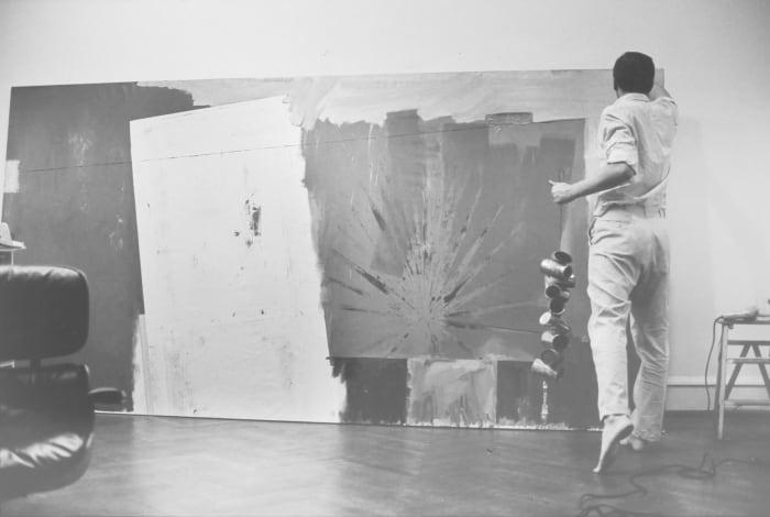 Jasper Johns, New York by Ugo Mulas