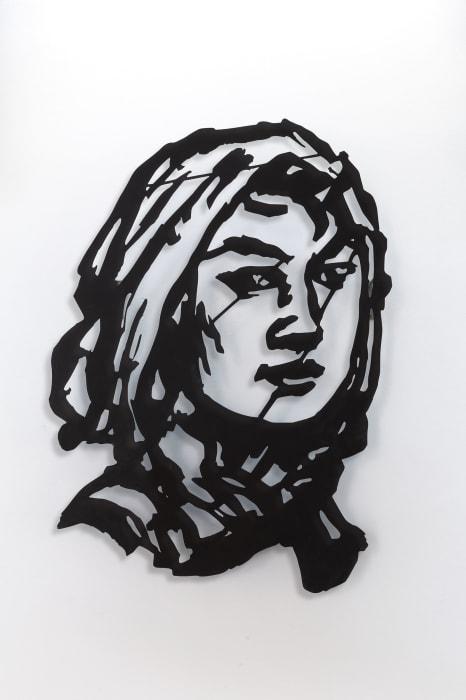 Head (Woman with Head Scarf) by William Kentridge