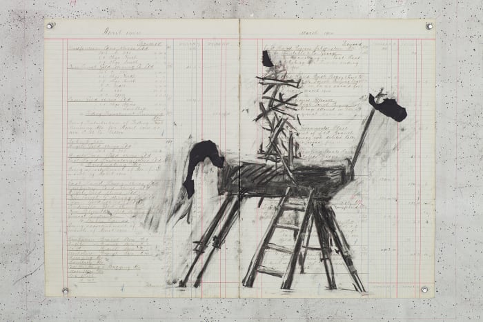 Study for Vittorio Emanuele II (I) by William Kentridge